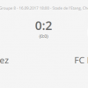 3° Ligue 16.09.2017 FC Chevenez - FC Haute Ajoie