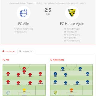 FC Alle - FCHA 1
