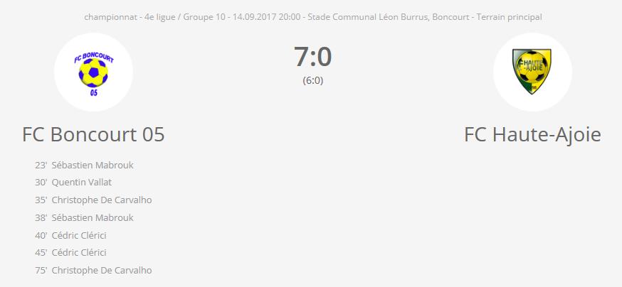 FC Boncourt 05 - FC HA 2