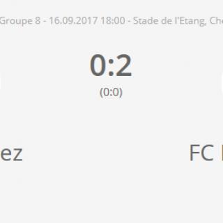 FC Chevenez - FC HA 1