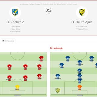 FC Coeuve 2 - FCHA 2