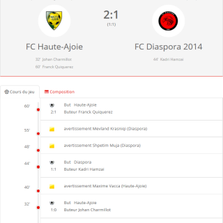 FC HA 1 - FC Diaspora