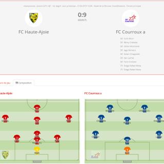 FCHA Juniors D - FC Courroux