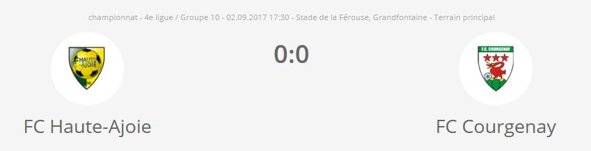 FCHA2 - FC Courgenay