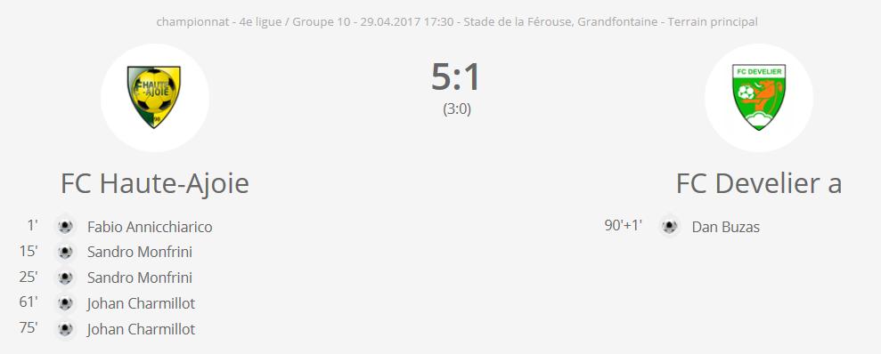 FC H-A 2 vs FC Develier