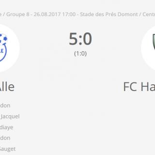 FC Alle 1 - FC HA1