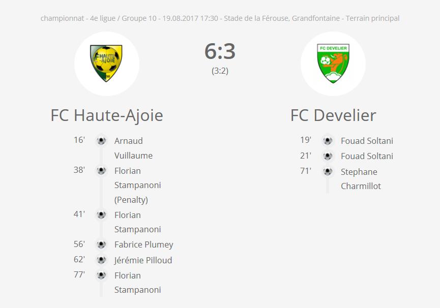 FCHA 2 - FC Develier 3