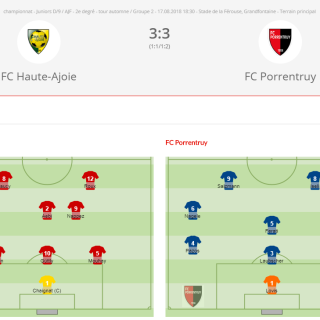 FC HA JD- FC Porrentruy
