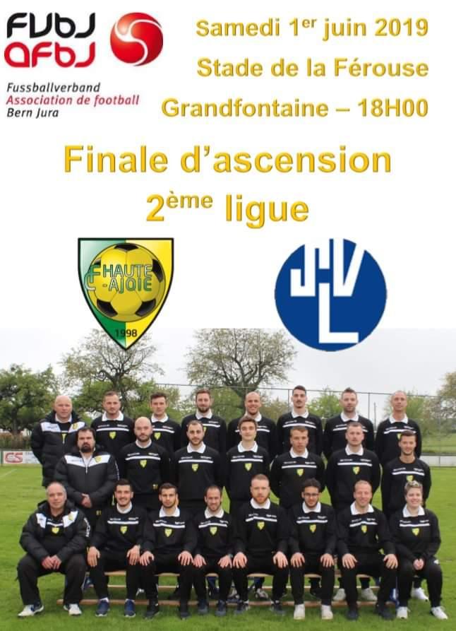 Affiche finale FCHA _ SV Lyss